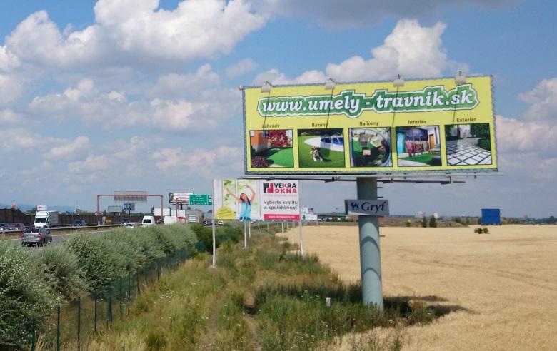 Umely-travnik.sk bigboard
